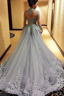 Gorgeous Prom Dress,Long Sleeve Prom Dress, High Quality Prom Gowns,Sexy Evening Prom Dress,Evening Party Dress,Beautiful Party Dress,Women Dress,Special occasions Dress MT20180284