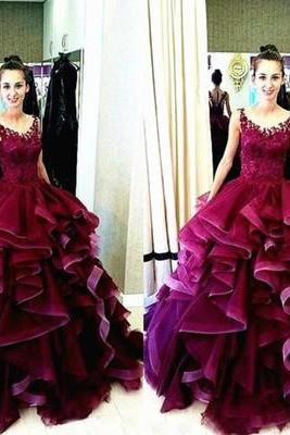 Gorgeous Ball Gown Prom Dresses,Quinceanera Dresses,Long Prom Dresses,Charming Prom Dresses, Sweet 16 Dresses,Modest Evening Dress,Prom Evneing Dress MT20180291